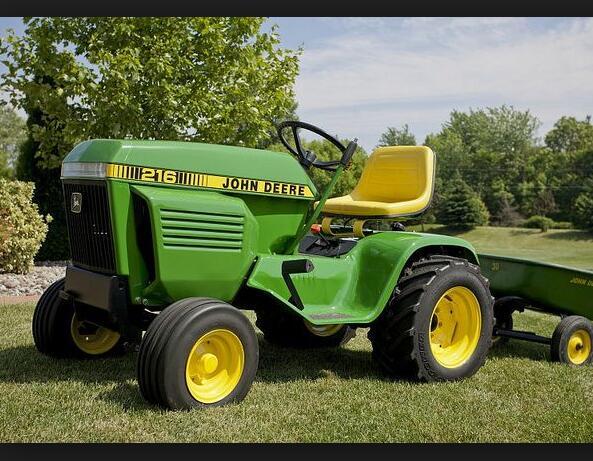 John Deere 200  208  210  212  214  216 Lawn And Garden Tractors Service Repair Manual Uff08sm2015