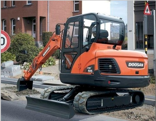Doosan Dx55 Excavator Service Repair Manual  U2013 Service