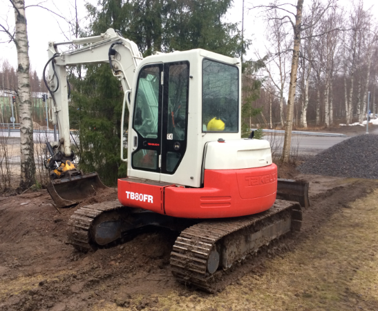 Takeuchi Tb80fr Compact Excavator Service Repair Workshop