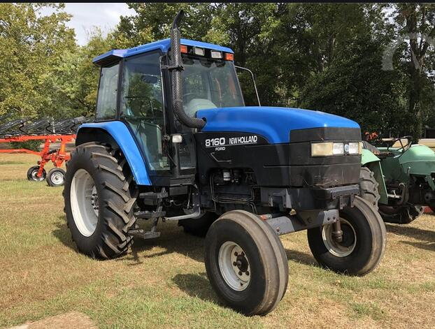 Ford New Holland 8160  8260  8360  8560 Tractors Service